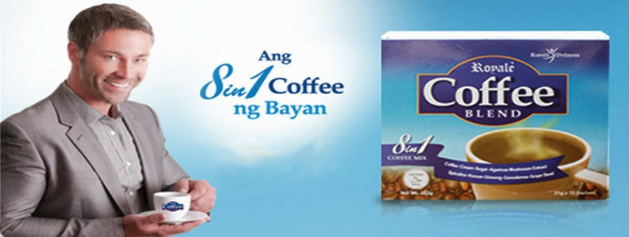 Why settle for Ordinary Coffee? Take Royale, Your 8-in-1 Coffee Drink!