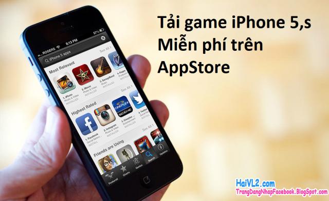 tải game miễn phí cho iphone 5 , iphone 5s