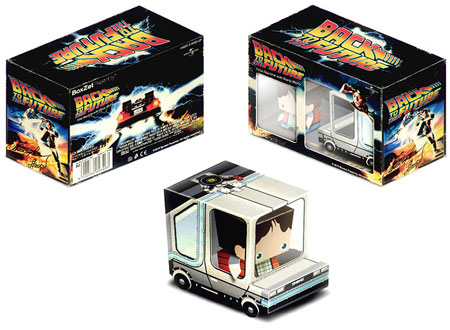 BoxZet Back to the Future Paper Toy