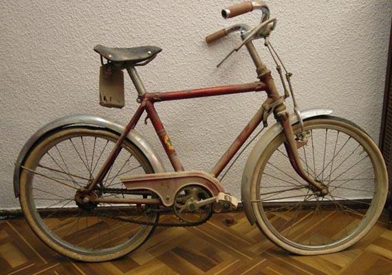 Mi pequeña bici roja