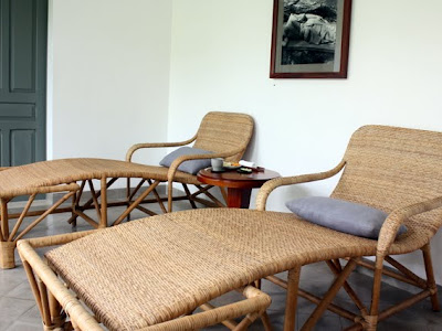 Spa treatment area at the Amantaka hotel in Luang Prabang Laos