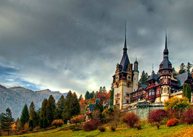 Famous castles of Romania
