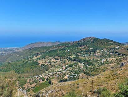 """Meerwärts – der Blick vom Aussichtspunkt """"Battaglia"""""""
