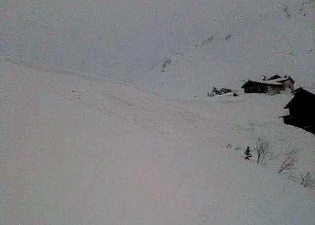Avalanche Mont Thabor, secteur Col de la Roue, Fontaine Froide - Photo 1