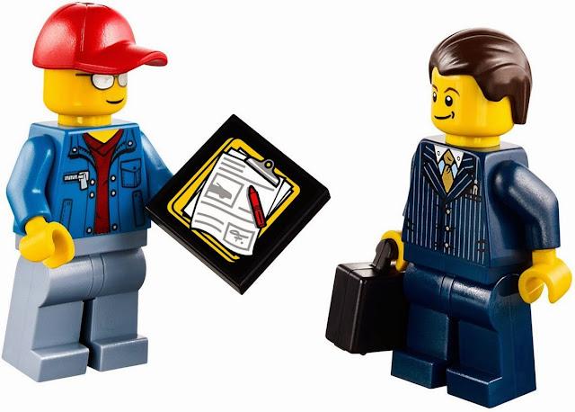 Hoàn tất bàn giao, sẵn sàng lên đường vận chuyển trong bộ xếp hình Lego City 60060 Auto Transporter