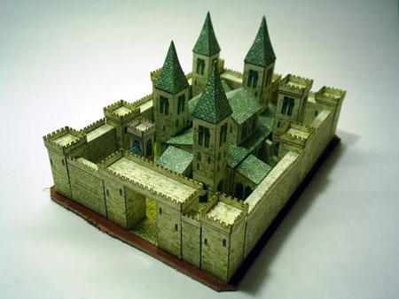 Medieval Castle Papercraft
