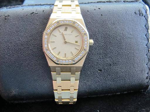 Bán đồng hồ Audemars piguet Royal Oak Nữ – dây vàng 18k – Sử dụng Pin – Size 31mm