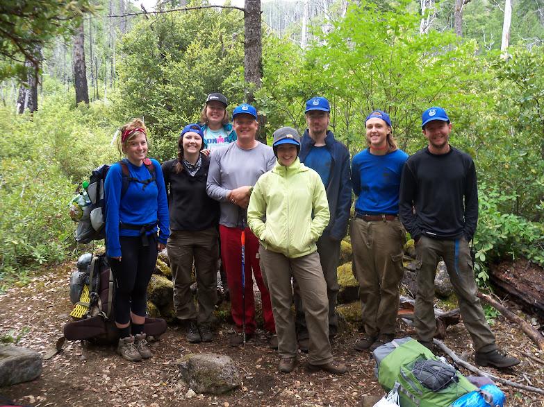 Crew At Box Creek