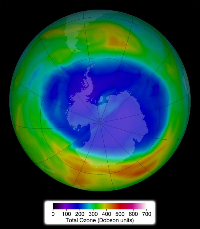 El agujero de la capa de ozono en la Antártida alcanza su máximo anual mostrando síntomas de recuperación