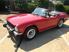1976 Triumph TR6 Base Convertible 2-Door 2.5L