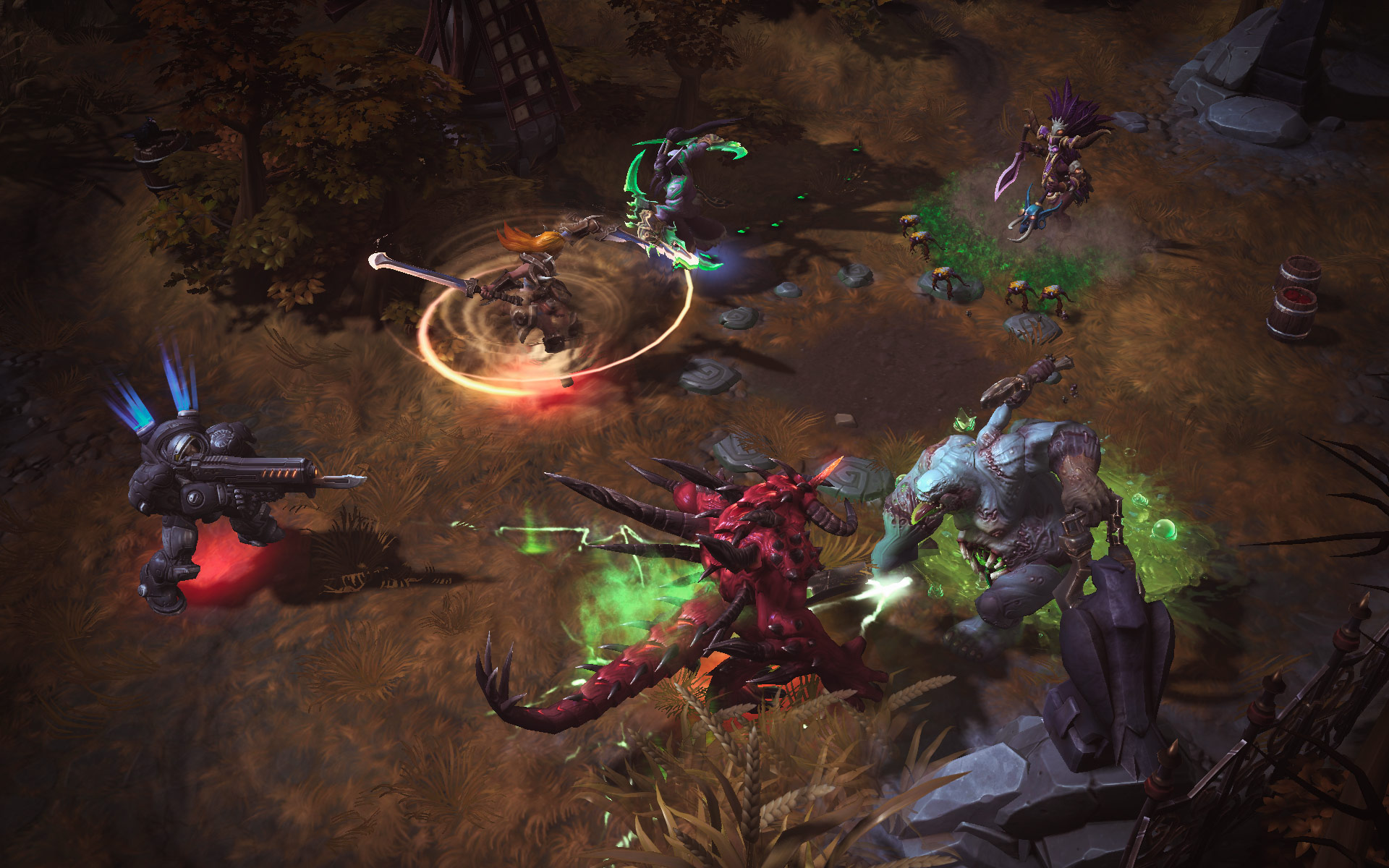 Heroes of the Storm: MOBA của Blizzard lộ diện 11