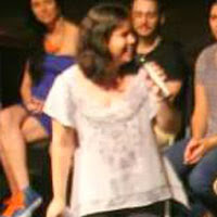 Amanda Aouad no Cine Avuadora - 2014