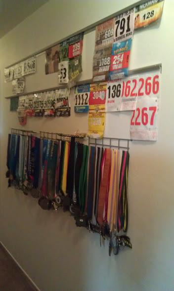 running wall