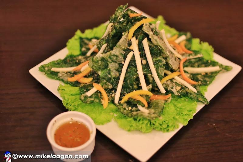 Crispy Kangkong Salad