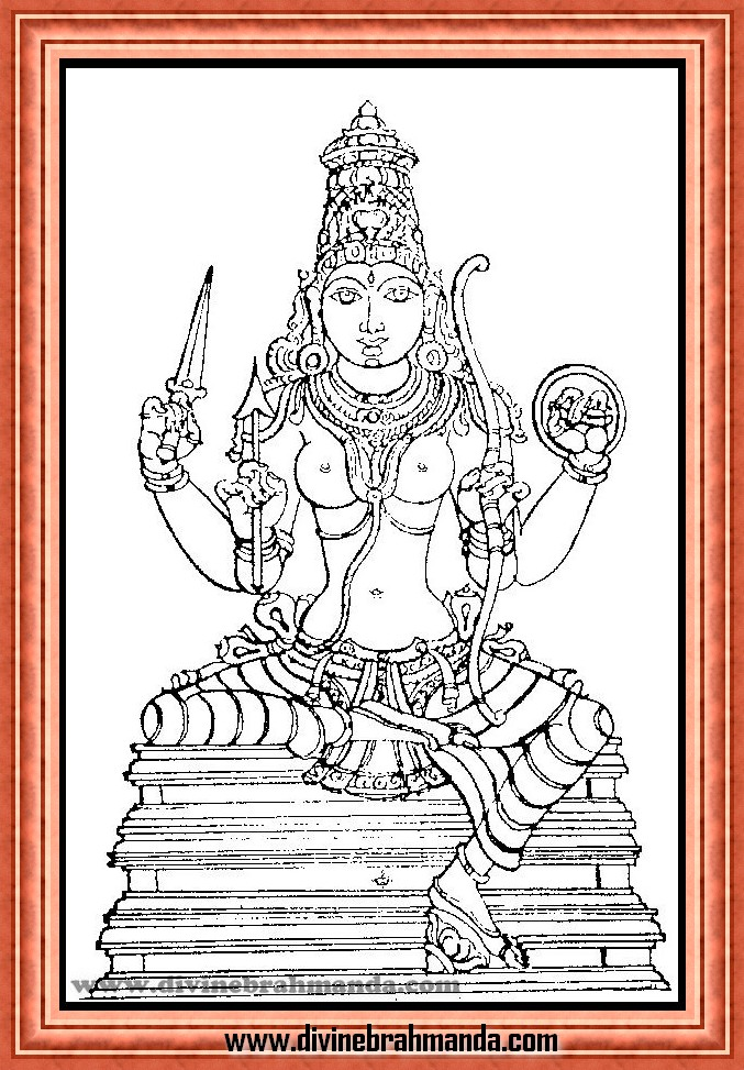 Soundarya Lahari Sloka, Yantra & Goddess For Command Over Natural Forces - 09