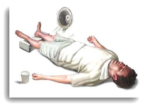 помощь при тепловом ударе