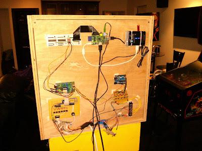 Electronics mounting - head