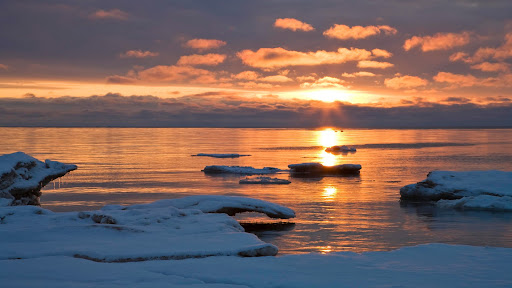 Sunrise Light on Lake Michigan, Door County, Wisconsin.jpg