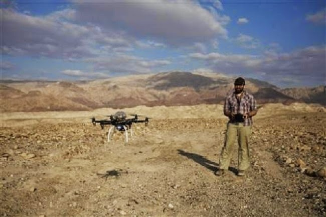 Jordan: Drone offers glimpse of looting at Jordanian site