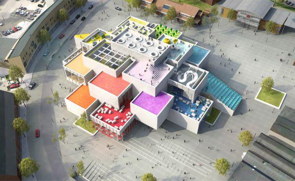 Trụ sở mới của LEGO với kiến trúc độc đáo