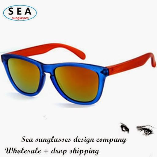 Wholemen sports wayfarer sunglasses women 10pcs/box coa