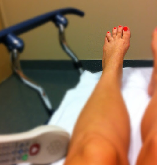 At the Emergency room- There isn't supposed to be a big gap!