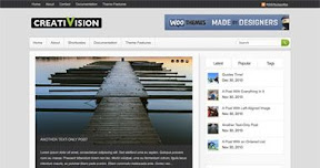 Creativision WordPress theme