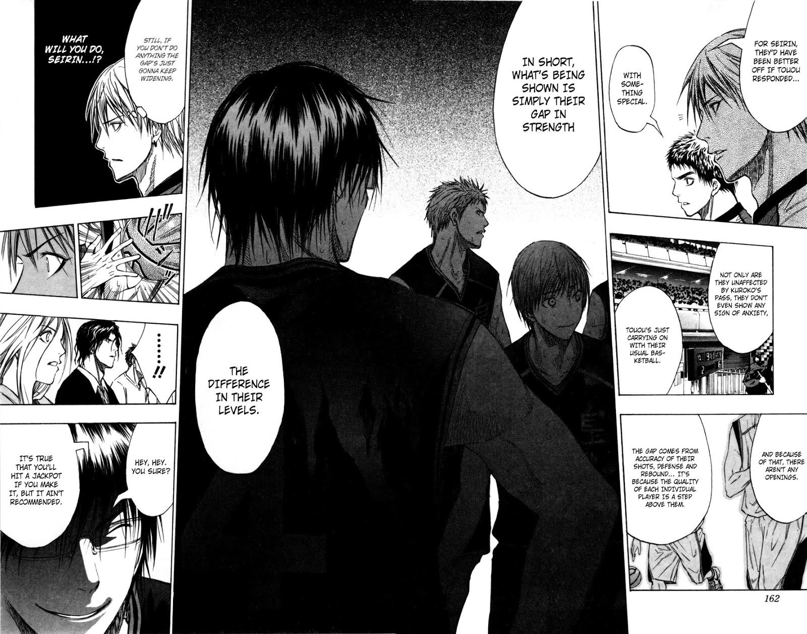 Kuroko no Basket Manga Chapter 116 - Image 15-16