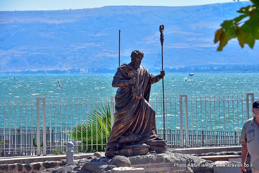 Капернаум. Апостол Петр. Экскурсия по христианским местам Галилеи гида Светланы Фиалковой.