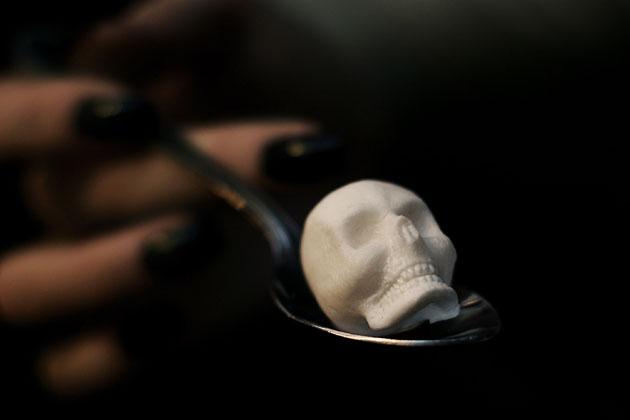 *骷髏方糖鬼咖啡:白骨浮現?!農曆七月還沒到呢! 2
