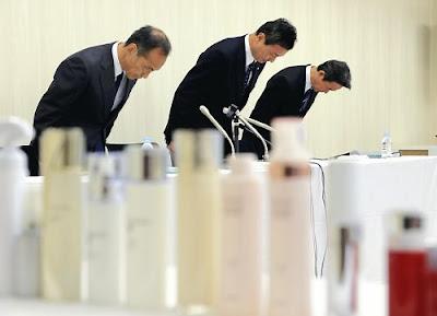 カネボウ、「ロドデノール」含む美白化粧品を自主回収。肌がまばらに白くなる被害
