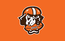 dog football Cleveland Browns Wallpaper
