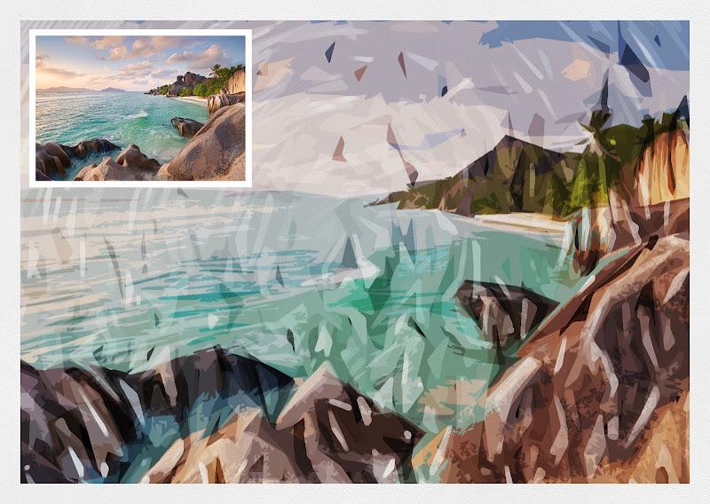 เทคนิคแปลงภาพถ่ายธรรมดาให้กลายเป็นงานศิลปะแบบ Impressionist Canvas Imc34