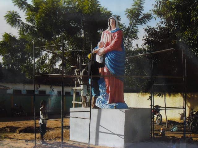 statua Madonna delle Vittorie - Alto Parnaiba