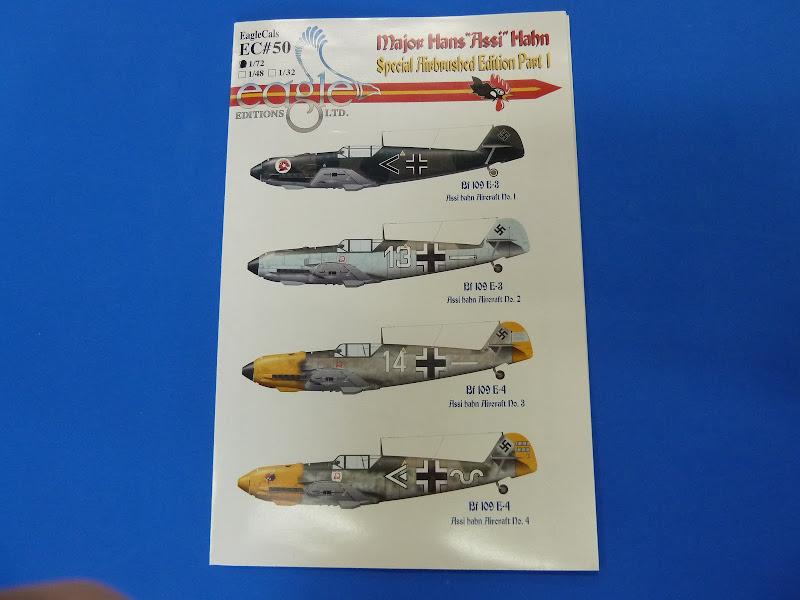 "Messerschmmit Bf 109 E-3 - Major Hans ""Assi"" Hahn P1030839"