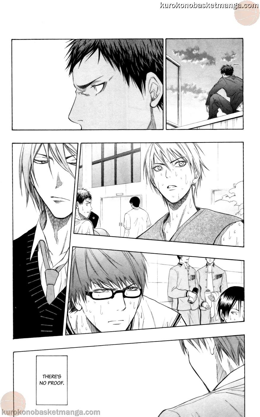 Kuroko no Basket Manga Chapter 83 - Image 14