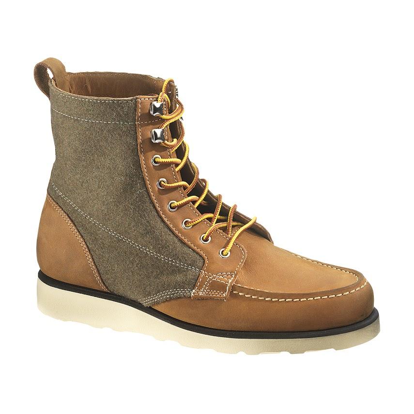 *SEBAGOxWoolrich®:Stockton 皮革百年羊毛混搭紳士鞋履! 4