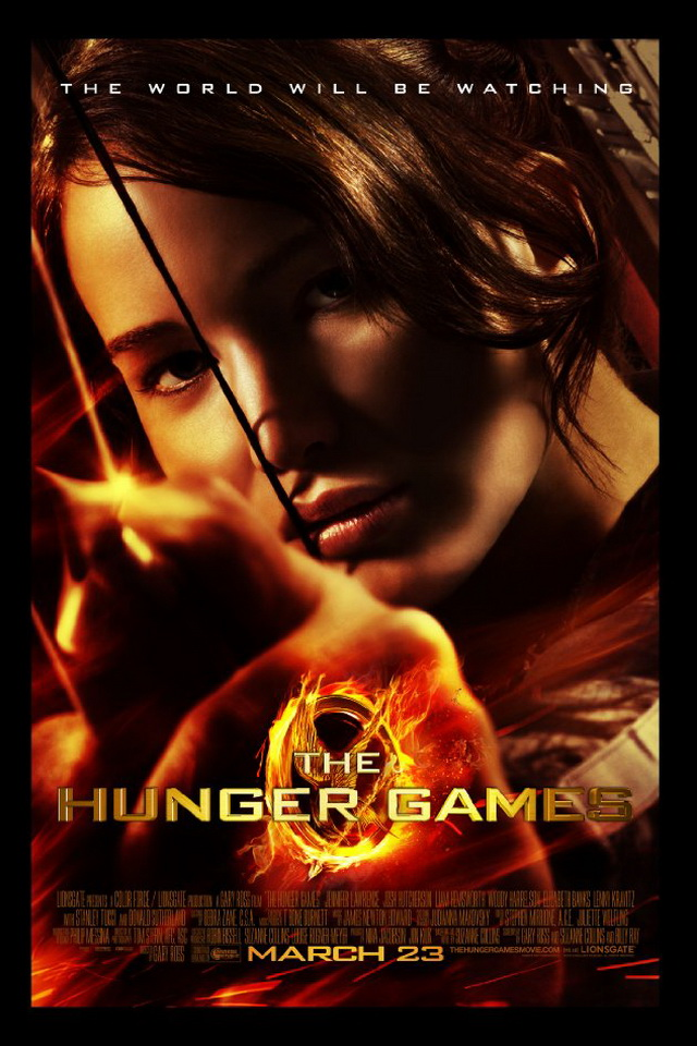 The World Will Be Watching The Hunger Games Movies Poster Wallpapers For iPhone 4