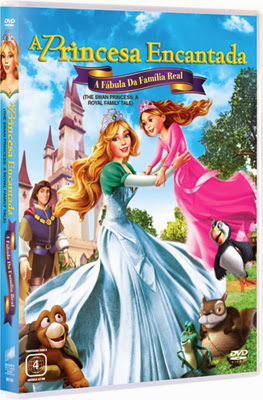 Filme Poster A Princesa Encantada: A Fábula da Família Real DVDRip XviD Dual Audio & RMVB Dublado