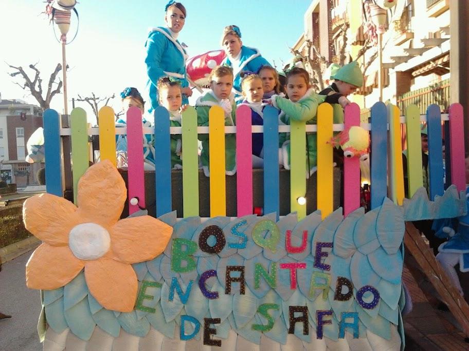 Carroza día de Reyes