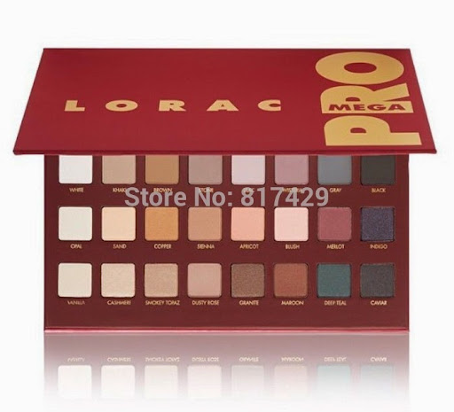 Lorac Mega Pro Palette MEGA Eyeshadow Makeup Set 32 Col