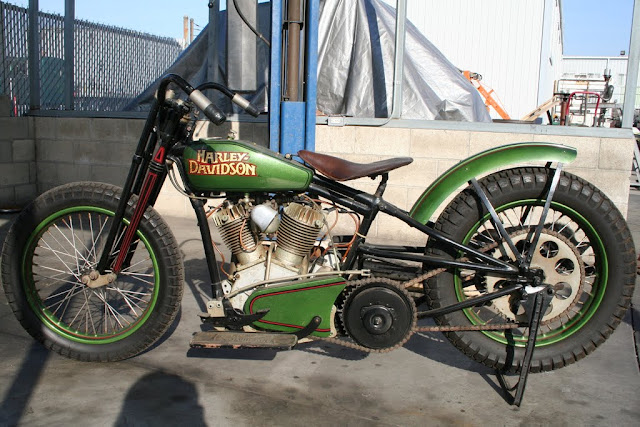Oldmotodude 1928 Harley Davidson Peashooter Hill Climber: Lance Tidwell Cut Down