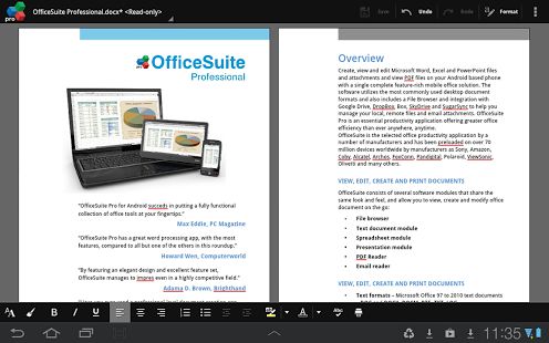 OfficeSuite 8 Pro + PDF for Android