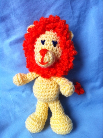 Little Amigurumi Lion : The Way I Crochet: Little Lion Amigurumi