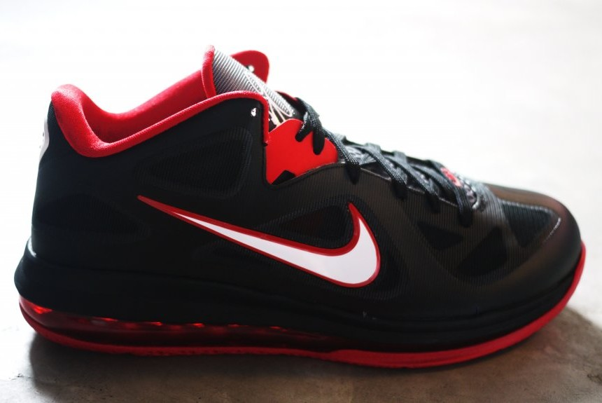 best website c5629 11437 ... Upcoming Nike LeBron 9 Low 8211 Black White Red ...