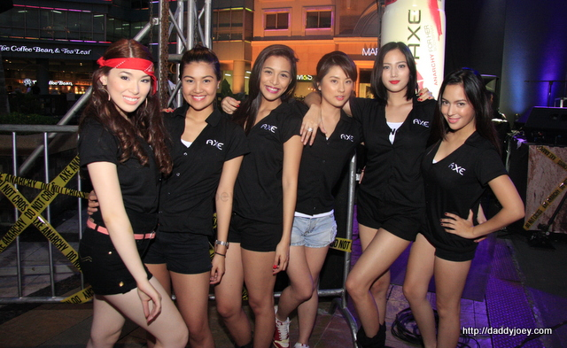 says that summer is over? Yesterday, Eastwood City was scorching hot