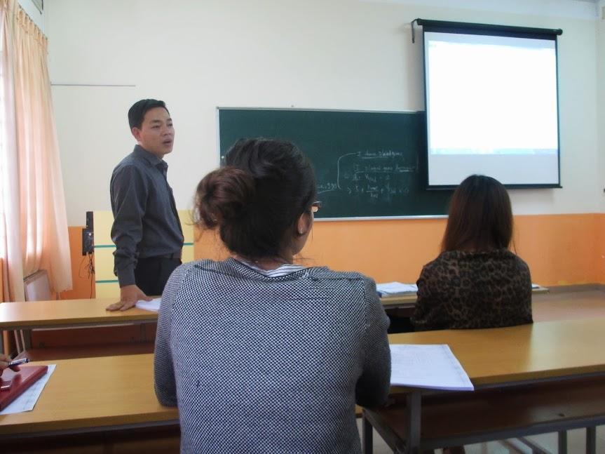 Thầy Lê Xuân Nguyên- Trưởng Ban Đào tạo FPT Polytechnic Tây Nguyên