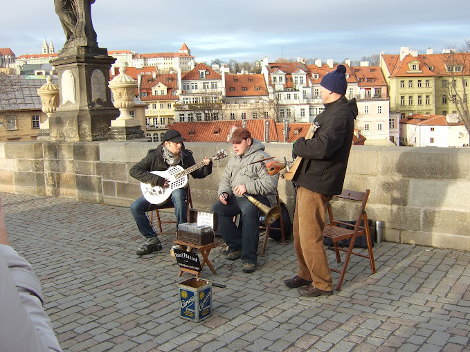 Band on Charles Bridge