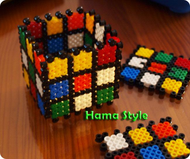 Trabajos 3D Hama Style Rubik2