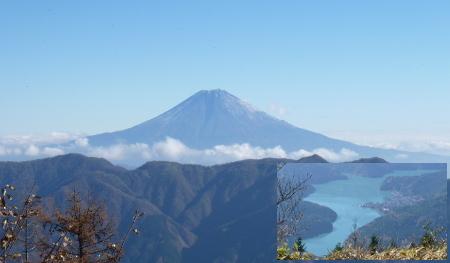富士山の眺め@笹山